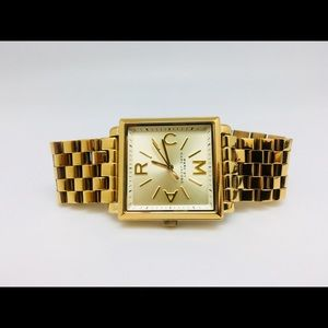 Marc Jacobs Gold Truman Watch, Excellent Condition